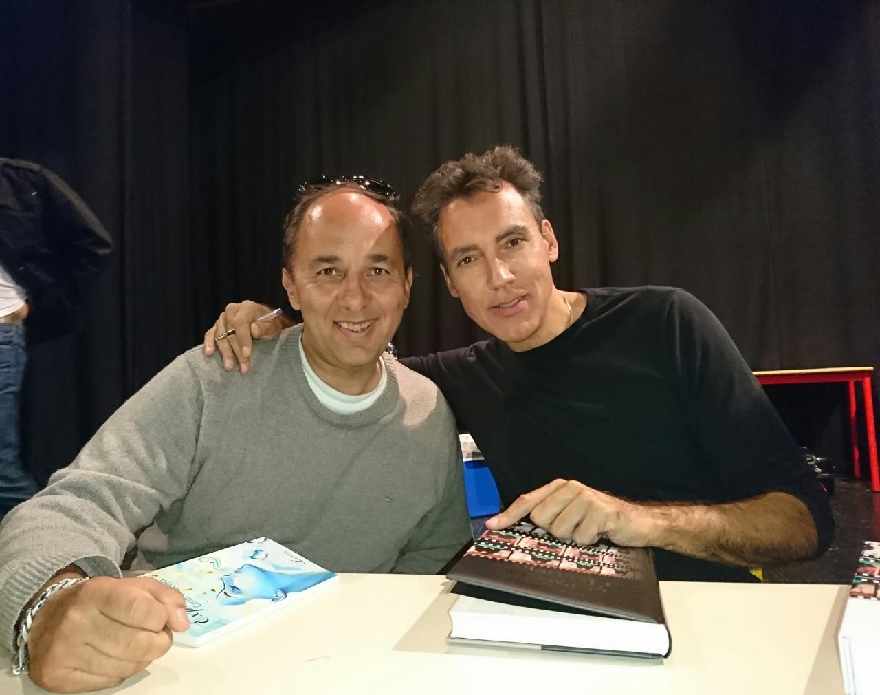 Avec Mr Carlos Vaquera