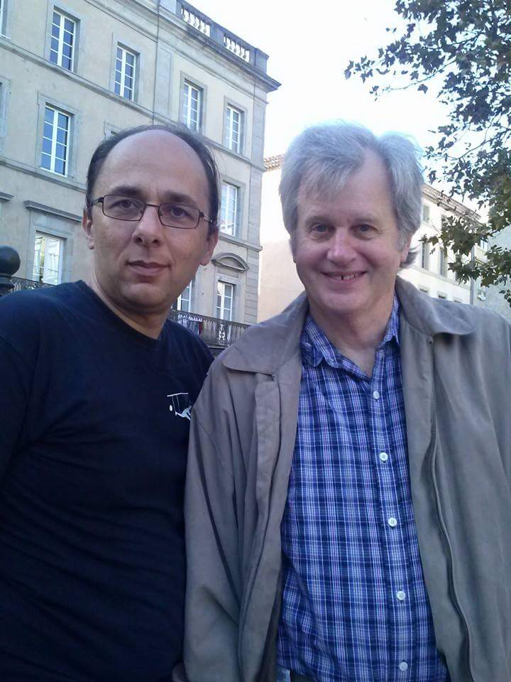 Avec Mike Caveney