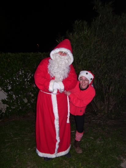 arrivée du père Noël
