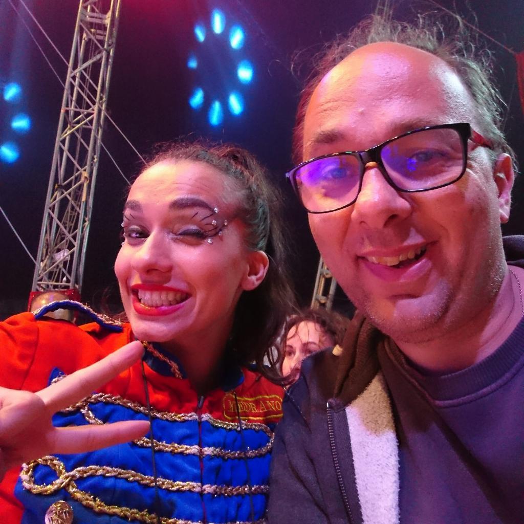 Avec Darina Kolischenko