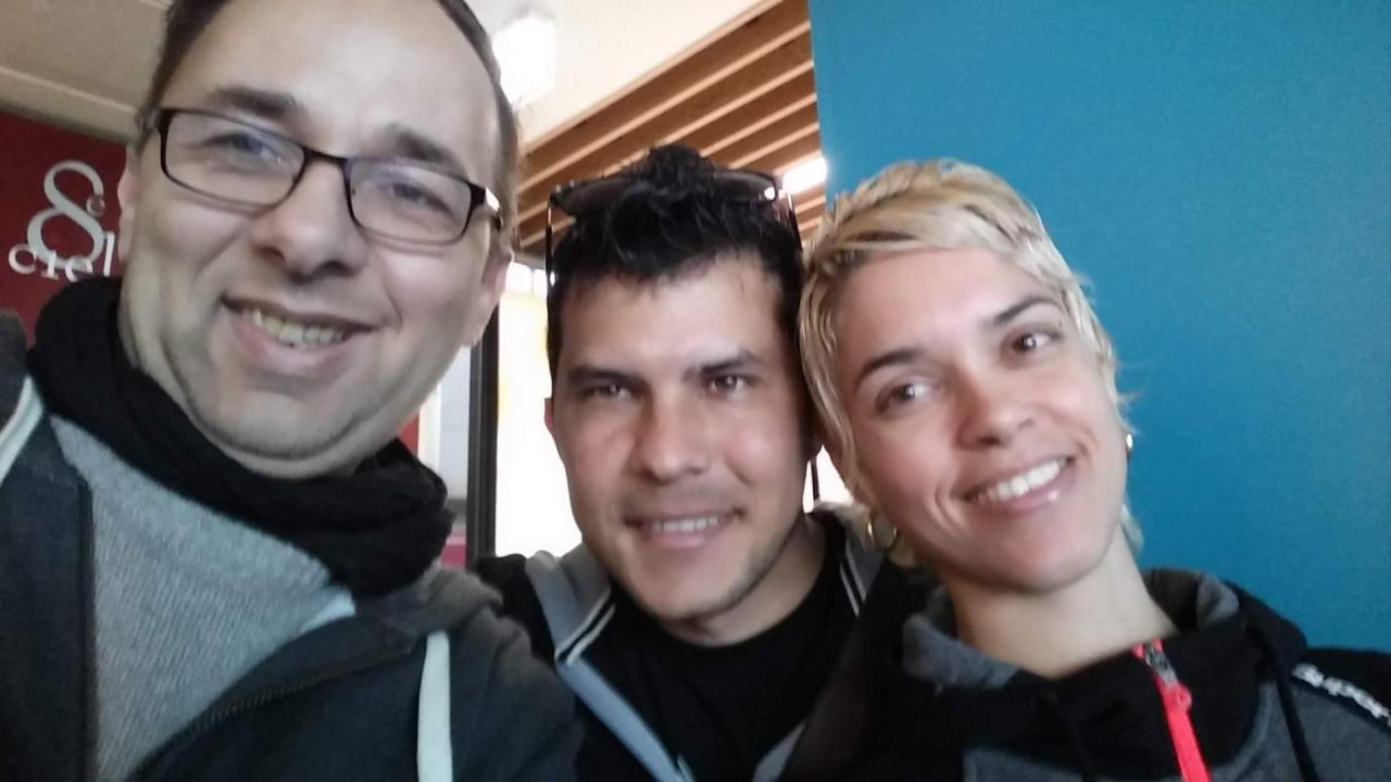 Avec Sixto et Lucia